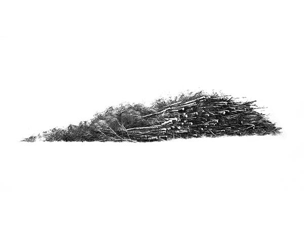 Papier, carbone.